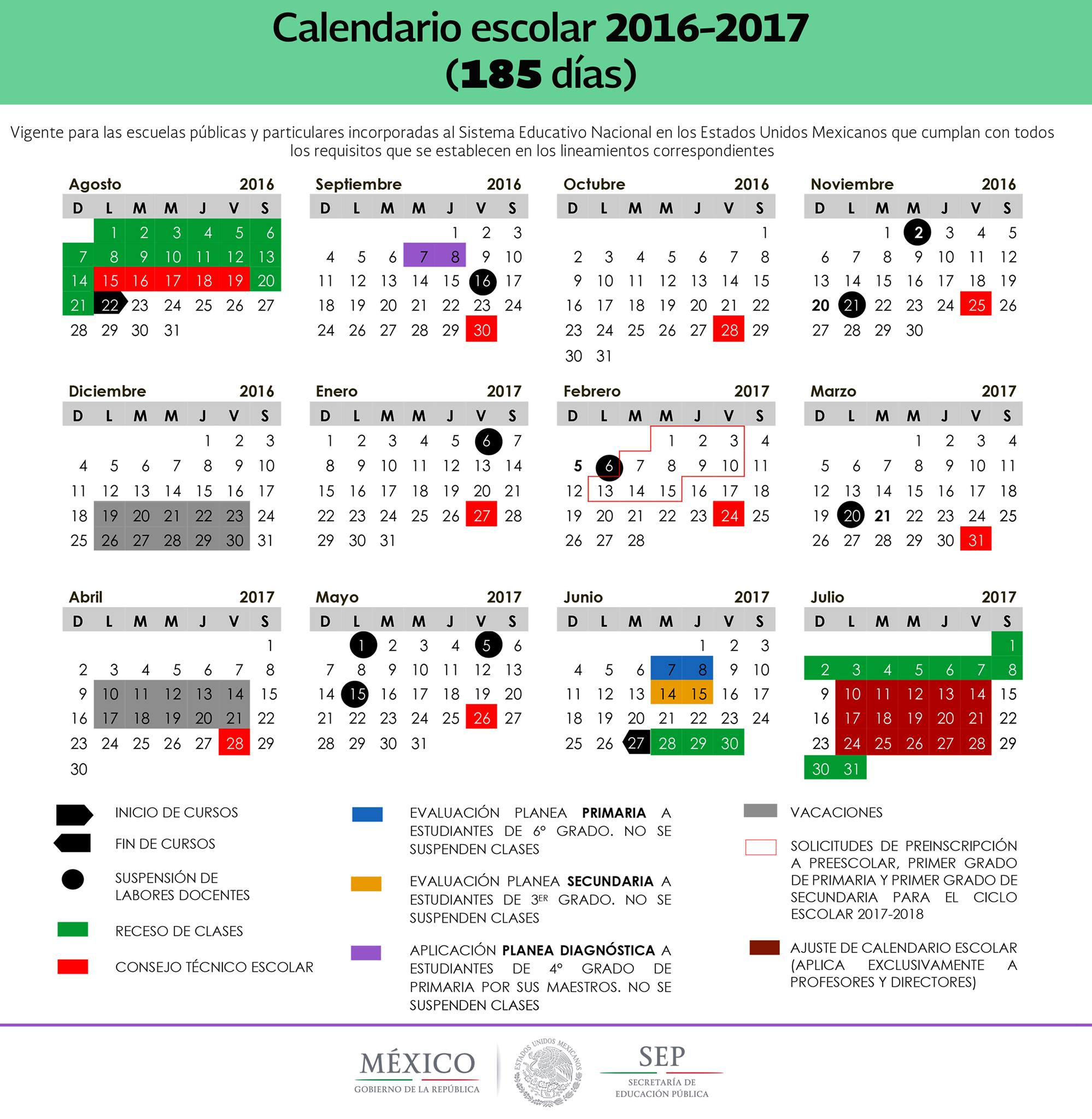Sep 2016 2017 Related Keywords & Suggestions - Calendario Sep 2016 ...