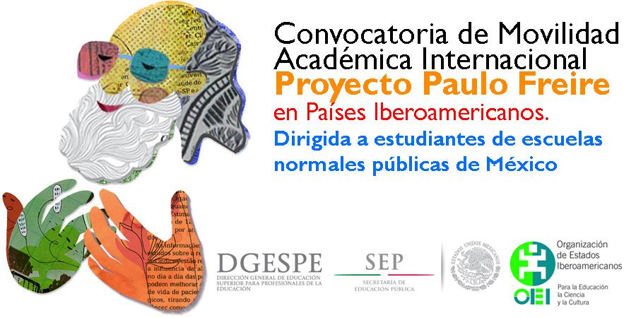 Movilidad acad mica internacional proyecto paulo freire for Convocatoria para docentes 2016